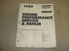 MITCHELL 1989 SUPPLEMENT 3 ENGINE PERFORMANCE SERV/REPAIR IMPORTED CARS ... - $9.99