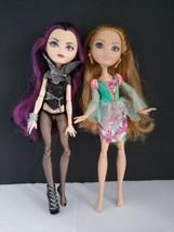 Lot of 2 Ever After High Dolls  Raven Queen & Ashlynn Ella - $37.00