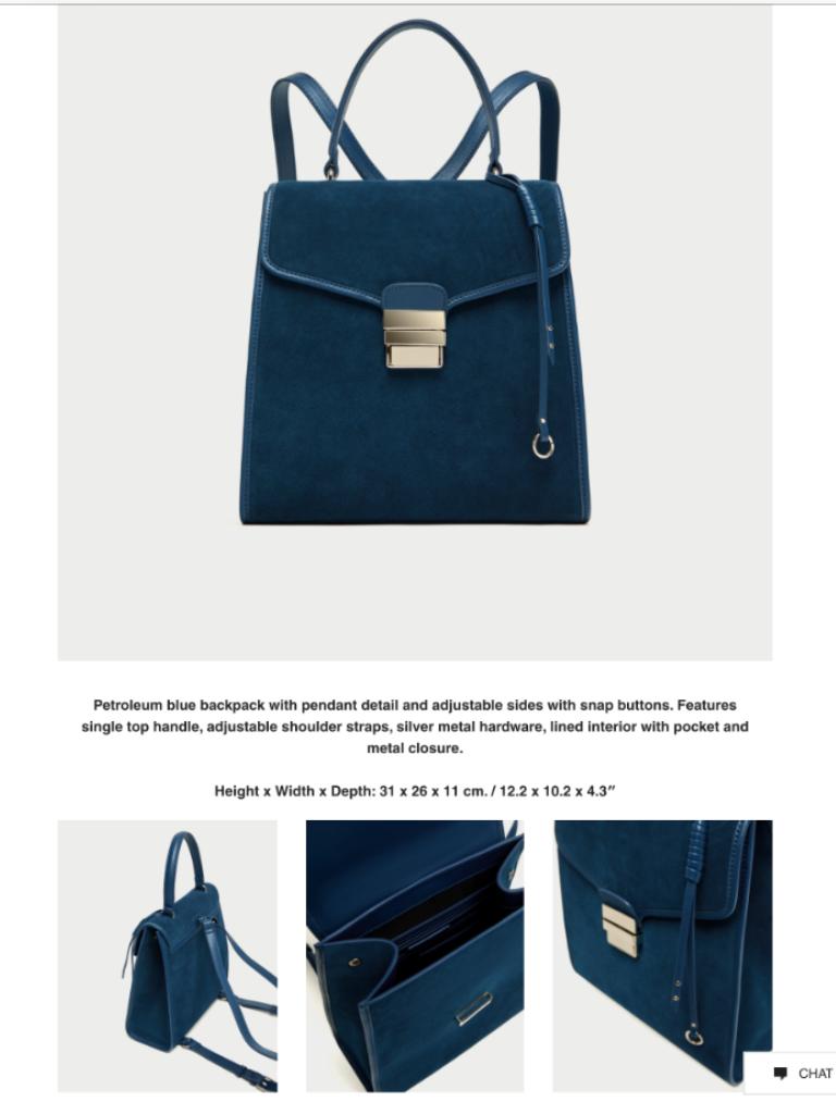 f65e5710e5 Zara Rare Split Suede Convertible Backpack and 50 similar items