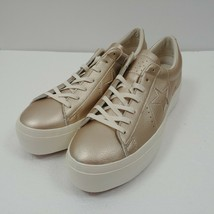 Converse One Star Platform Ox Low Top Shoes Gold 559924C Womens Size 10 NWT image 2