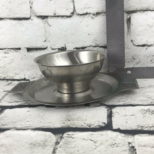 Rogers Insilo Fashion Stainless Vtg Serving Bowl