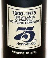 Vintage soda pop bottle COCA COLA 75th Anniversary Atlanta GA full origi... - $5.99