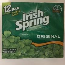 Irish Spring Deodorant Soap 12 Bars - $12.49
