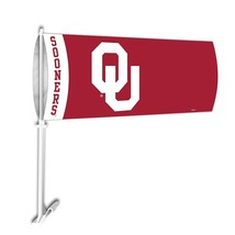 "Oklahoma Sooners NCAA Unisex Car Sock Flag, 9"" x 21"" - $9.00"