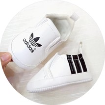White Unisex Baby First Walking Shoes 0-18 Months Baby Toddler Shoes A3185 - $16.99