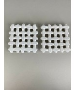 Berardos Pot Oven Trivets Ceramic Weave White Made in Portugal - $98.99