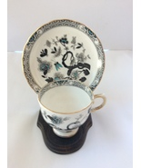 Tuscan Fine English Bone Decorated China With Cup And Stand - Made In En... - $40.00