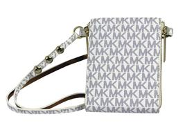 Michael Kors Women's MK Logo PVC Leather Purse Belt Fanny Pack Bag 552500 image 8
