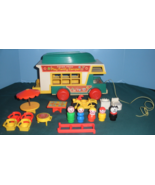 Vintage Fisher Price Play Family #994 Camper Comp. with ALL PLASTIC LP/E... - $100.00
