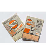 Clark Cash Stamp books, total of 2, used, 1960s - $7.00