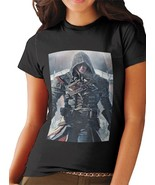 New Assassins Creed Rogue T Shirt Women Black - $15.20+