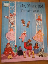 Vintage Dolls New & Old You Can Make Instruction Book 1967 - $5.99