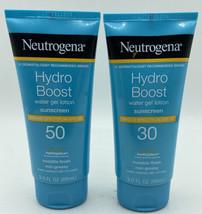 2 - Neutrogena Hydroboost Water Gel Lotion Sunscreen (1 - SPF50 & 1 - SPF30) - $23.99