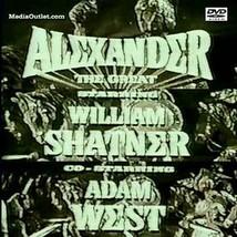Alexander The Great TV Pilot William Shatner Adam West All Regions DVD - $18.95