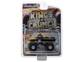 "1971 Chevrolet K-10 ""Gulf Oil""  Monster Truck Gold and Black ""Kings of C... - $15.95"