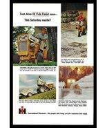 IH Cub Cadet Tractor Riding Lawnmower 1965 Lawn Care AD International Ha... - $14.99
