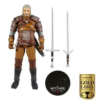 "Mcfarlane Toys Gold Label Series Witcher Geralt Of Rivia 7"" Brand New - $65.99"