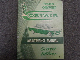 1960 Chevrolet CHEVY CORVAIR Maintenance Shop Manual second 2nd FACTORY ... - $26.22