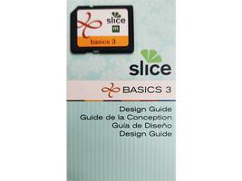 Slice Basics 3 Design Card and Design Guide, Scrapbooking, Cards & More
