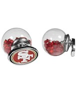 NFL - San Francisco 49ers Front/Back Earrings  - $9.99