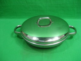 Command Performance Aluminum-Stainless Tri Ply Base Gourmet Pan ~ Lid ~ ... - $18.66