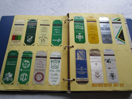 Vintage Lot of 363 Matchbook Covers ~Golf Courses~Country Clubs~Medinah - $130.59