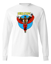 The Falcon T shirt Long Sleeve retro Marvel comic book superheroes cotton tee image 2