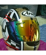 Arai full face helmet RX7-RR5 Isle of Man TT XL size genuine mirror shie... - $940.99