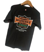 Milwaukee Milorganite Men S Nitrogen Fertilizer Black Short Sleeve Shirt... - $9.19