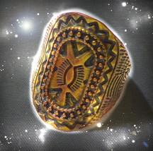 HAUNTED TRIBAL COPPER RING ALEXANDRIA 'S ASCENSION MASTER HIGHEST LIGHT MAGICK - $10,970.77