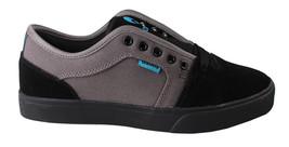 Osiris Black/Cyan Men's Decay Skateboarding Shoes image 2