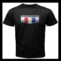 Chevrolet Camaro Logo Emblem Classic Car NEW Men's Black T-Shirt Size  - $20.99+