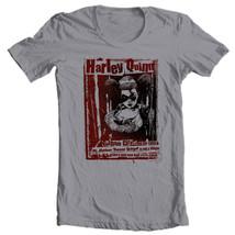 Harley Quinn T-shirt DC comic book Bat-Man Joker 100% cotton graphic tee BM226 image 2