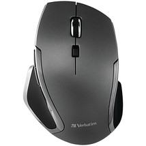 Verbatim(R) 98621 Wireless Notebook 6-Button Deluxe Blue LED Mouse (Grap... - $38.71