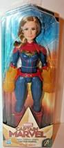 Marvel Captain Marvel Movie Cosmic Captain Marvel Super Hero Doll New - $9.46