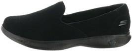 Skechers Womens Go Step Lite Delight Sneaker Black 9.5W NEW A309486 - £61.42 GBP