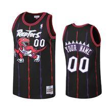 Men's Toronto Raptors Custom 00 Black Reload Jersey - $49.99