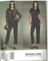 2986 Uncut Vogue-Schnittmuster Misses Gefüttert Enganliegend Jacke Hose ... - $14.90