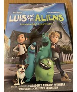 Luis And The Aliens Animated Dvd - $4.37