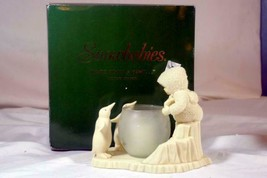 Dept 56 1999 Once Upon A time 3 Piece Votive Candle Holder MIB - $9.00