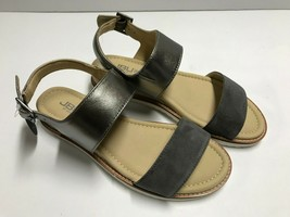 JBU by Jambu Women's Myrtle Wedge Sandal, Charcoal, 6 M US - $19.31