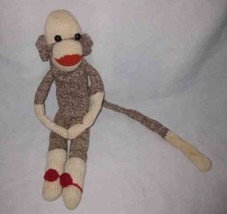"Neat 18"" Cloth SOCK MONKEY Doll - $16.15"