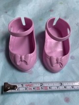 Disney My First Princess Doll Pink Shoes Used Nice Condition Violet Color - $14.03
