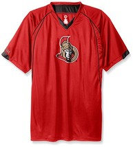 Profile Big & Tall Men's NHL Team Short Sleeved Birds Eye T-Shirt, Red, ... - $36.02