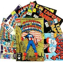 Captain America 9 Comic Book Lot Marvel Avengers Peggy Carter US Agent F... - $24.70
