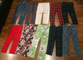 Lot Of 10 Girls Pants Bottoms GAP Hudson Zara H&M Pink Latte 5T/6T/7T/8T - $59.99