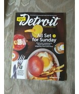 Visit Detroit Magazine October 2019 - March 2020 All Set For Sunday Clos... - $9.89