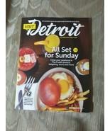 Visit Detroit Magazine October 2019 - March 2020 All Set For Sunday Clos... - $9.89
