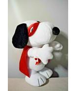 Snoopy Kissing Bandit Animated Plush Hallmark - $49.50