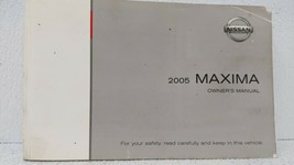 2005 Nissan Maxima Owners Manual 72345 - $23.74